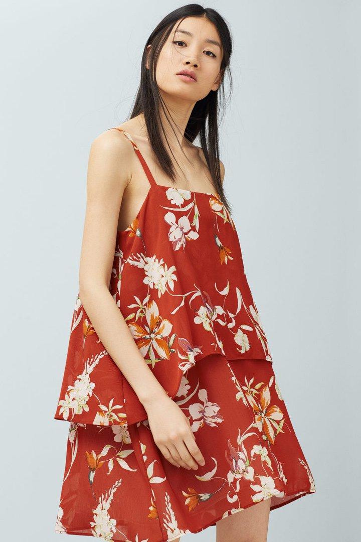 Rebajas en Mango: Vestido estampado de flores