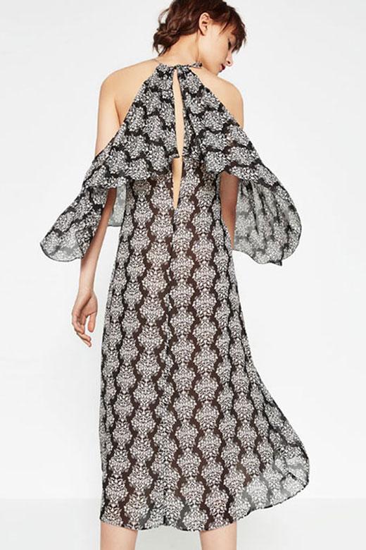 Vestido de rebajas en ZARA