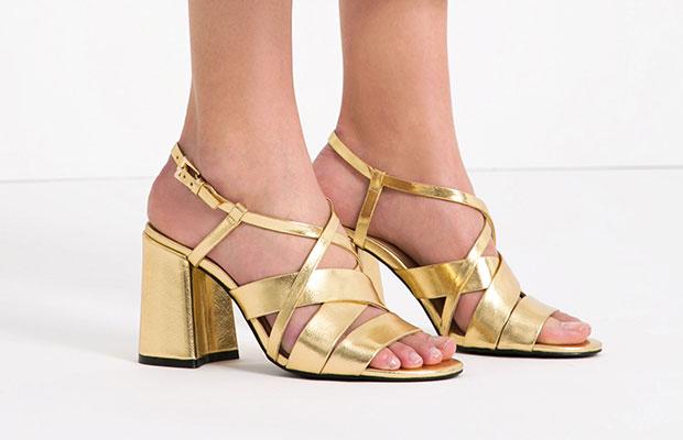 rebajas-zara-sandalias-doradas