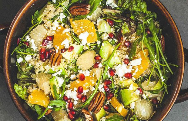 Recetas para invitados: ensalada de kale