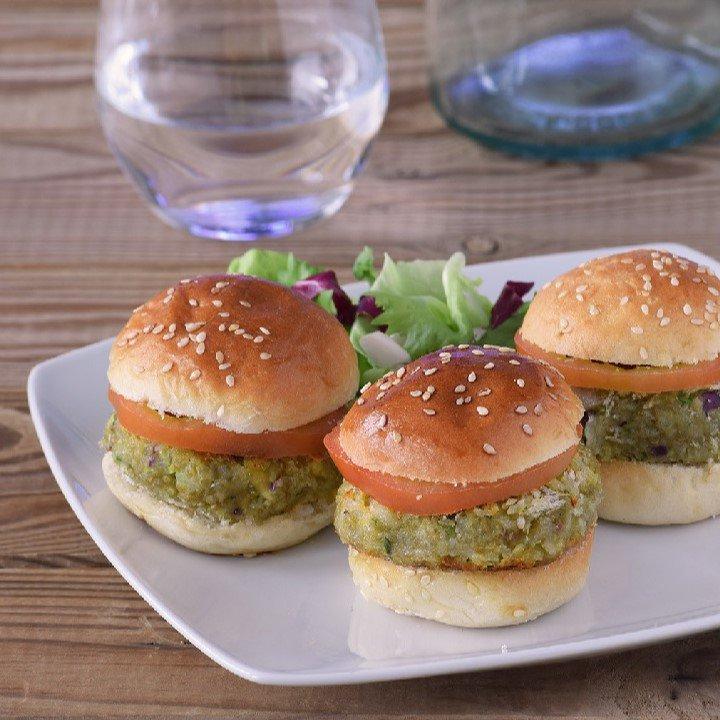 Mini hamburguesas de quinoa y aguacate: Recetas quinoa