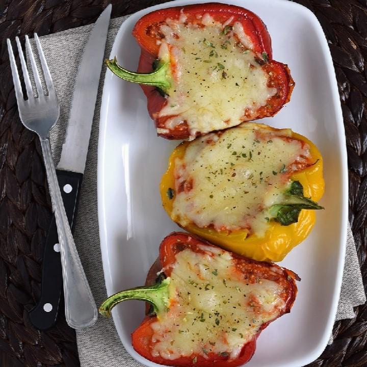 Pimientos rellenos de quinoa y salsa de tomate: Recetas quinoa