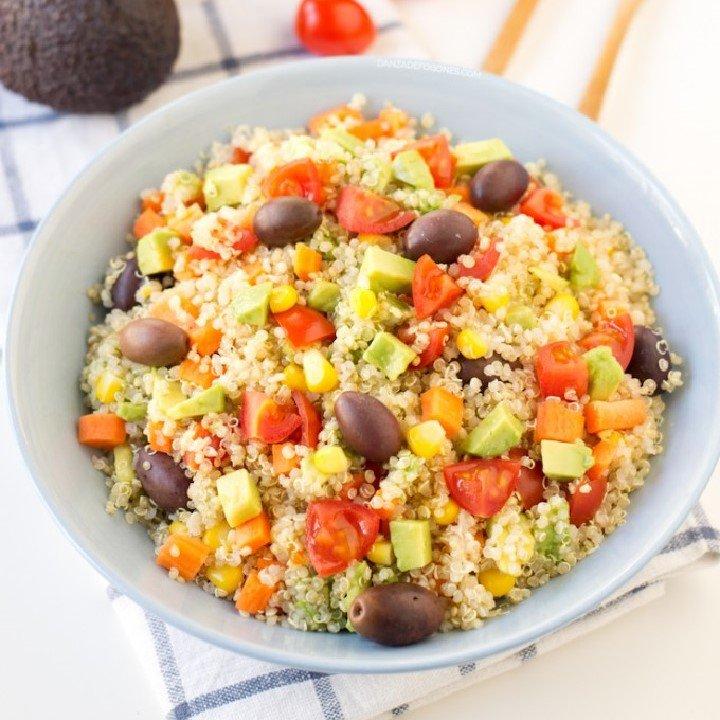 Ensalada de quinoa: recetas quinoa