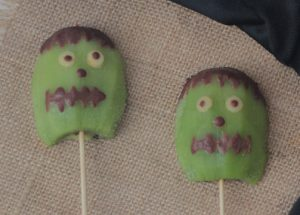 Las recetas para Halloween también puede ser saludables