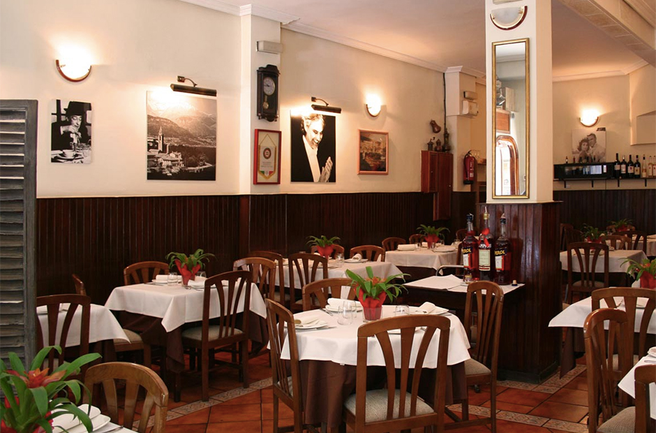 Restaurantes italianos de Madrid: Don Lisander