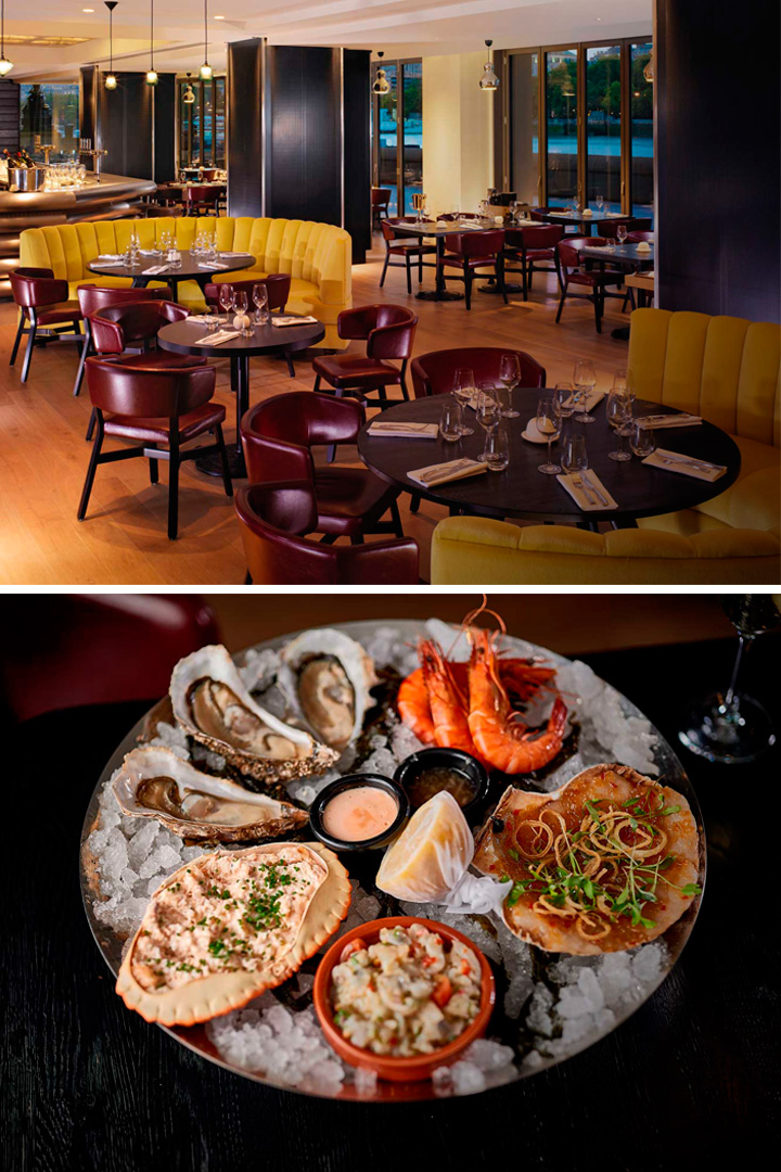 Restaurantes Londres: Sea Containers