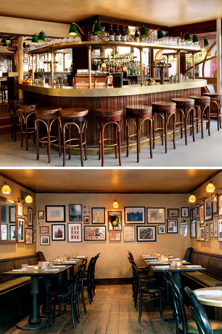 Restaurantes Londres: Cafe Boheme