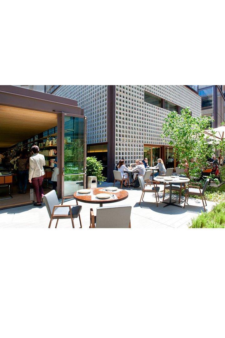 Restaurantes con terraza en madrid Bosco de Lobos