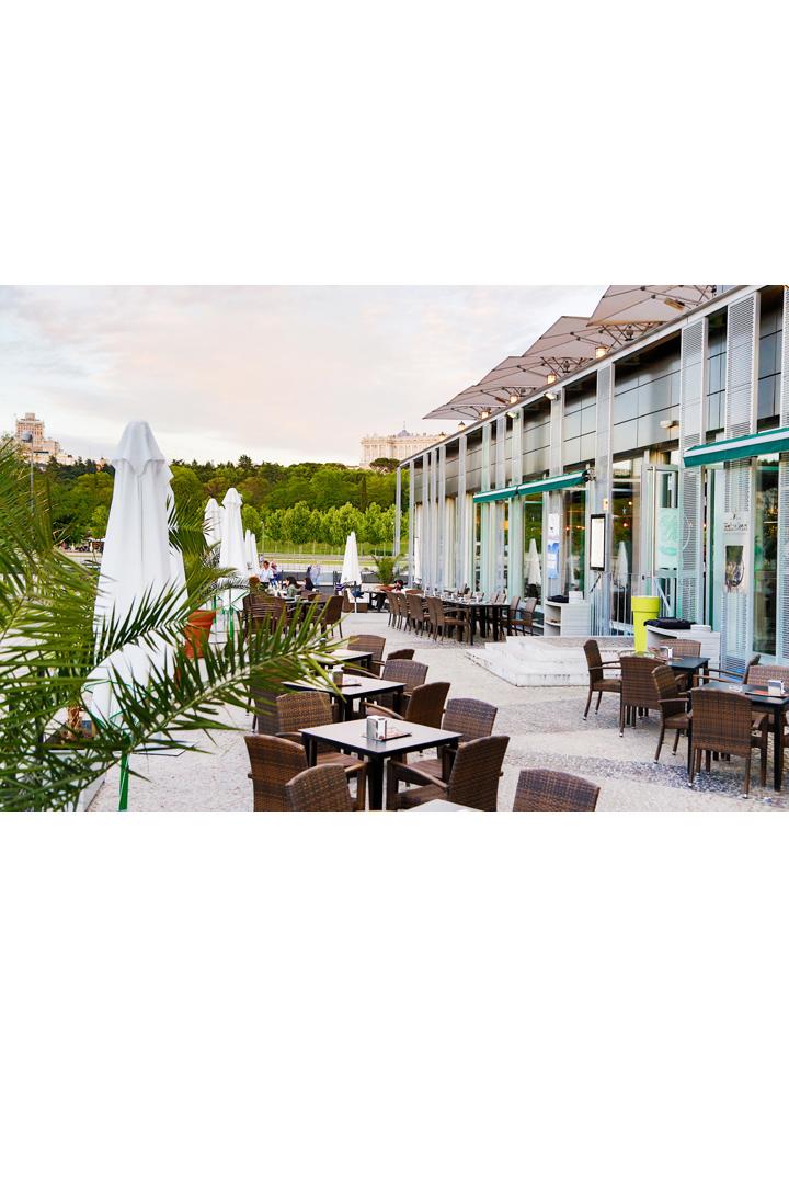 Restaurantes con terraza en madrid cafe del rio