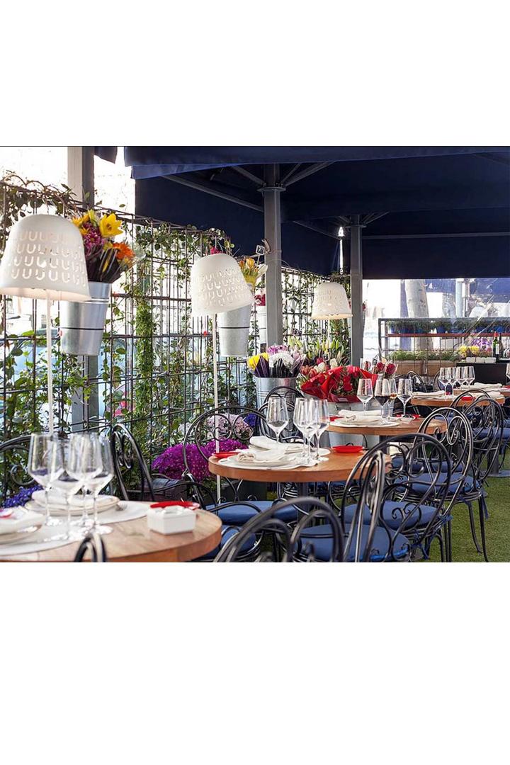 Restaurantes con terraza en madrid el gordo