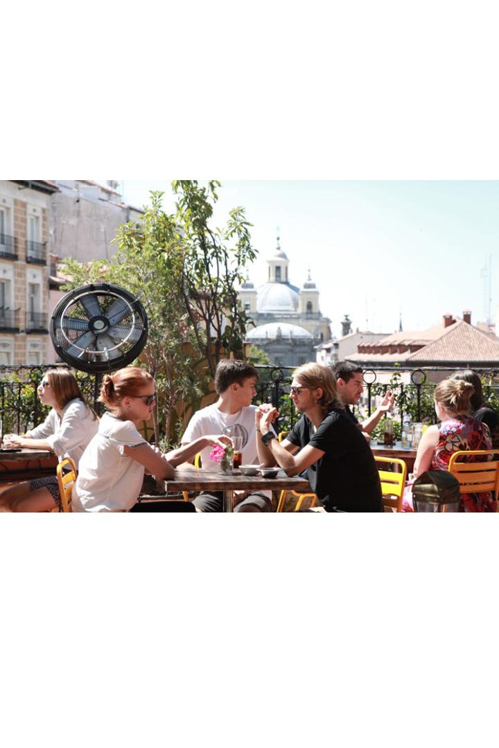 Restaurantes con terraza en madrid el viajero