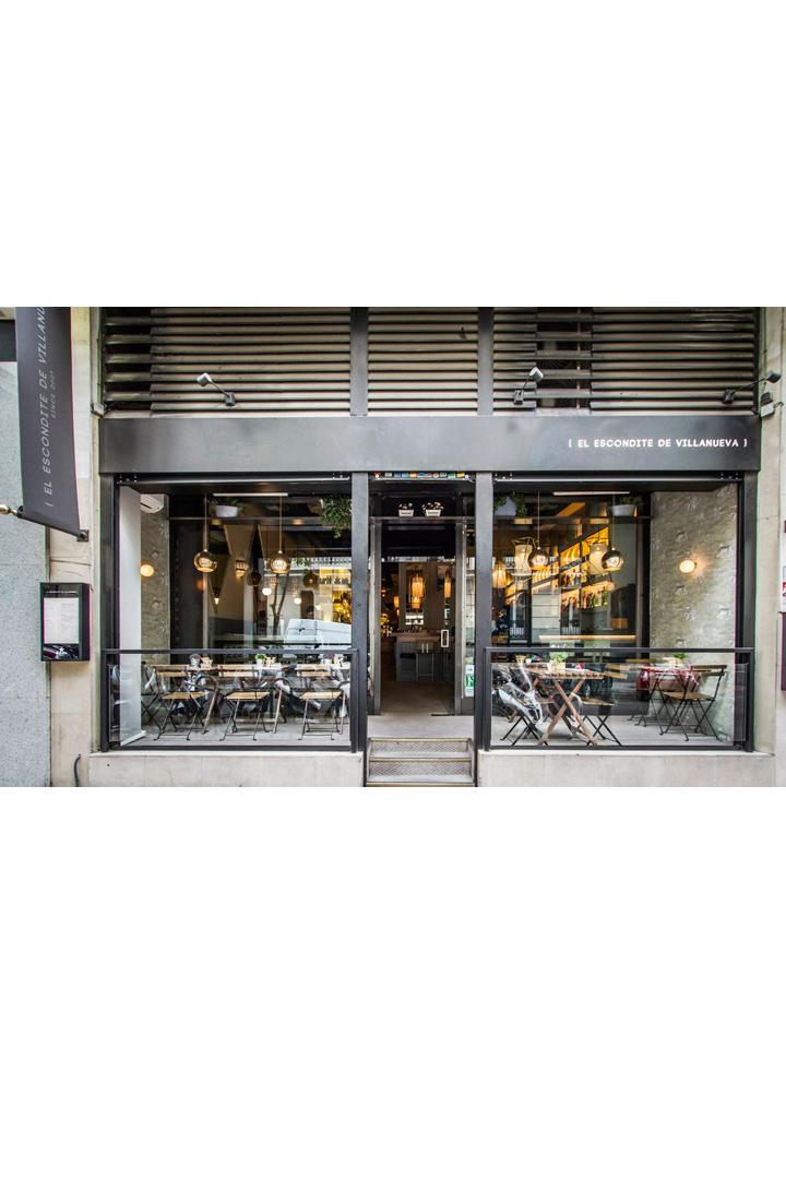 Restaurantes con terraza en madrid escondite villanueva