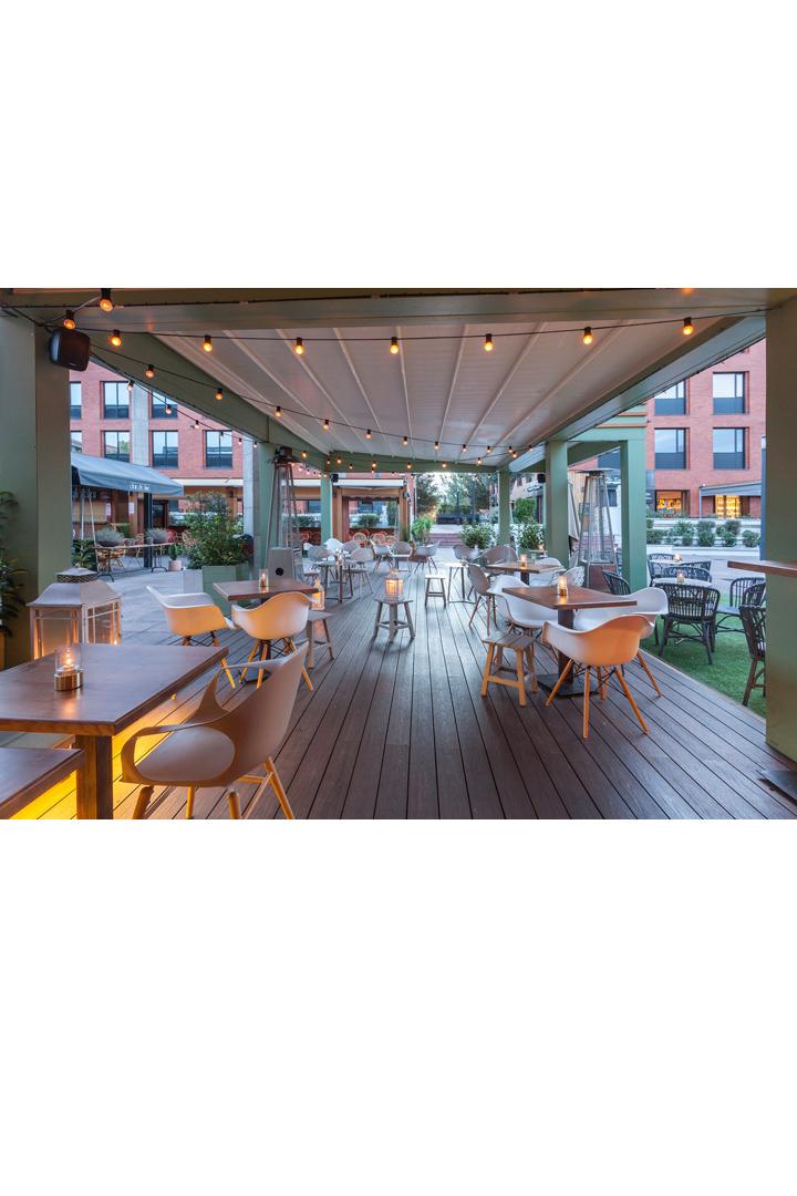 Restaurantes con terraza en madrid farruca
