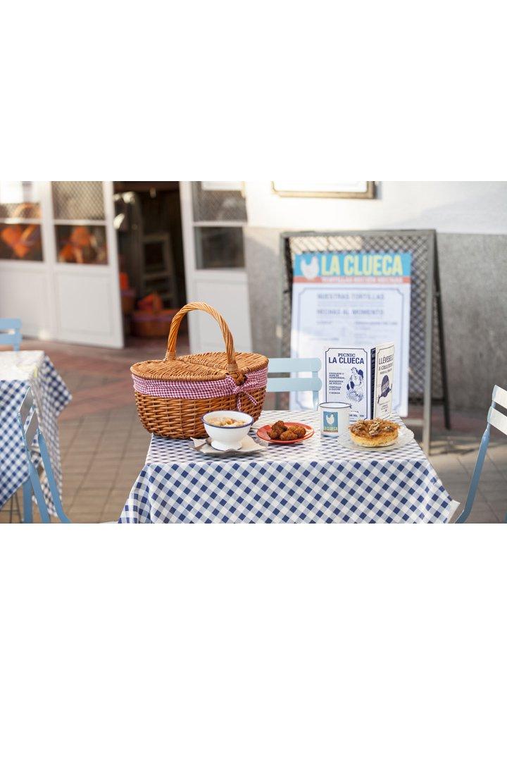 Restaurantes con terraza en madrid la clueca