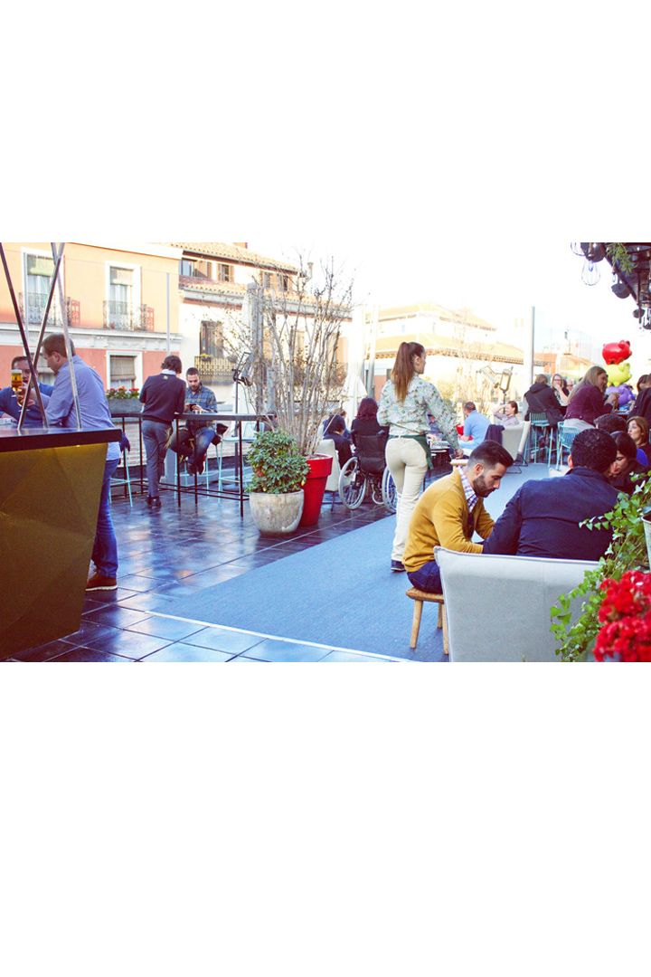 Restaurantes con terraza en madrid cocina de san anton
