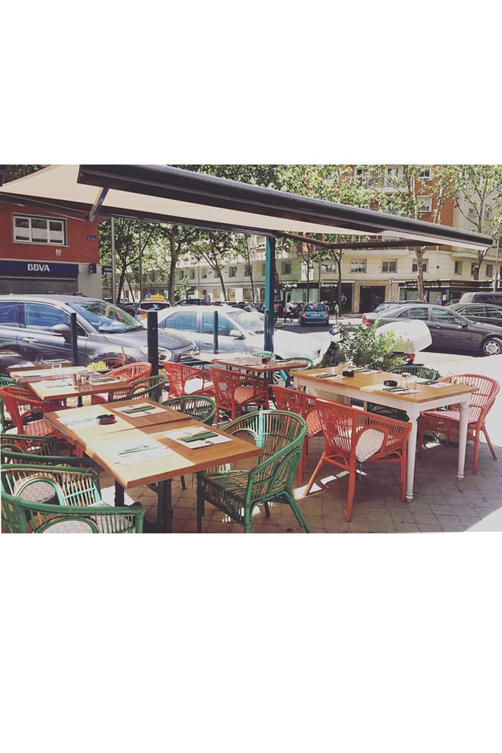 Restaurantes con terraza en madrid la pagoda