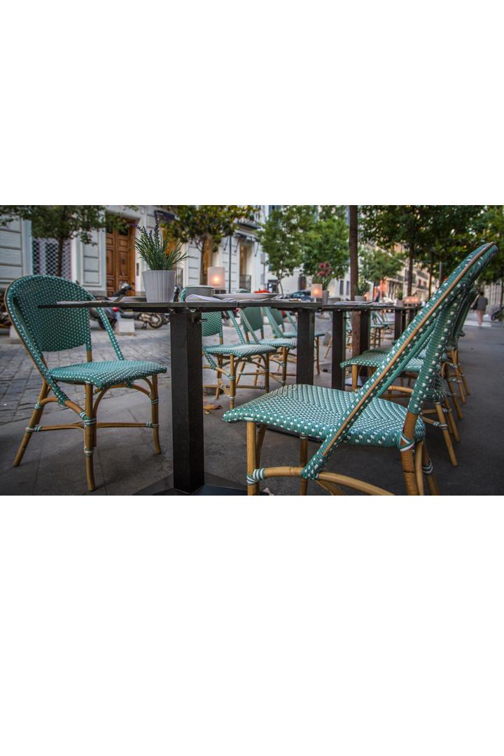 Restaurantes con terraza en madrid lady madonna