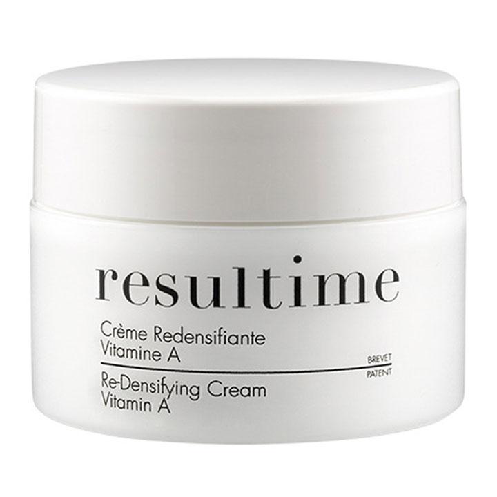 Crema Redensificante Vitamina A de Resultime: productos prolongar bronceado