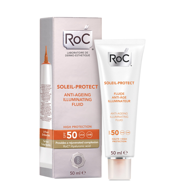 Soleil Protect de Roc: productos eliminar fatiga rostro