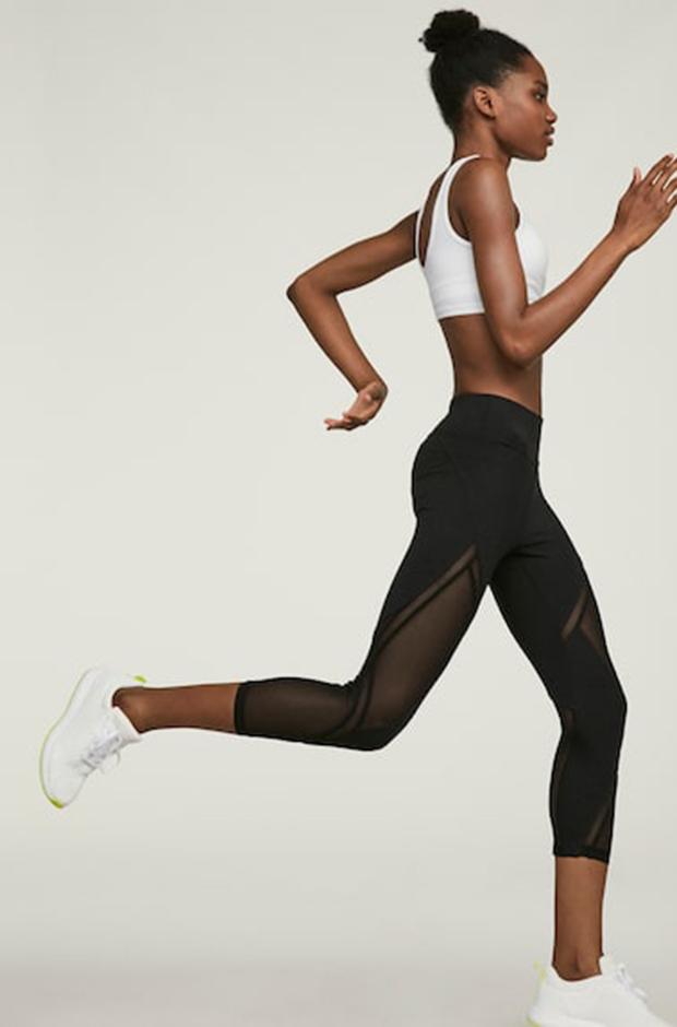 Ropa deportiva de Oysho: leggings negros