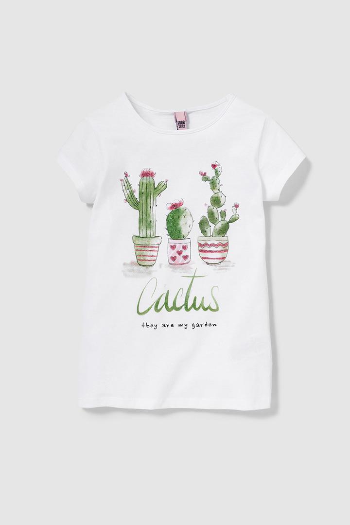 Camiseta de niña de El Corte Inglés