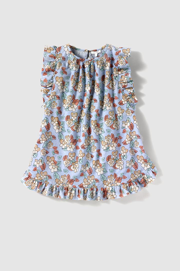 Vestido de flores de El Corte Inglés