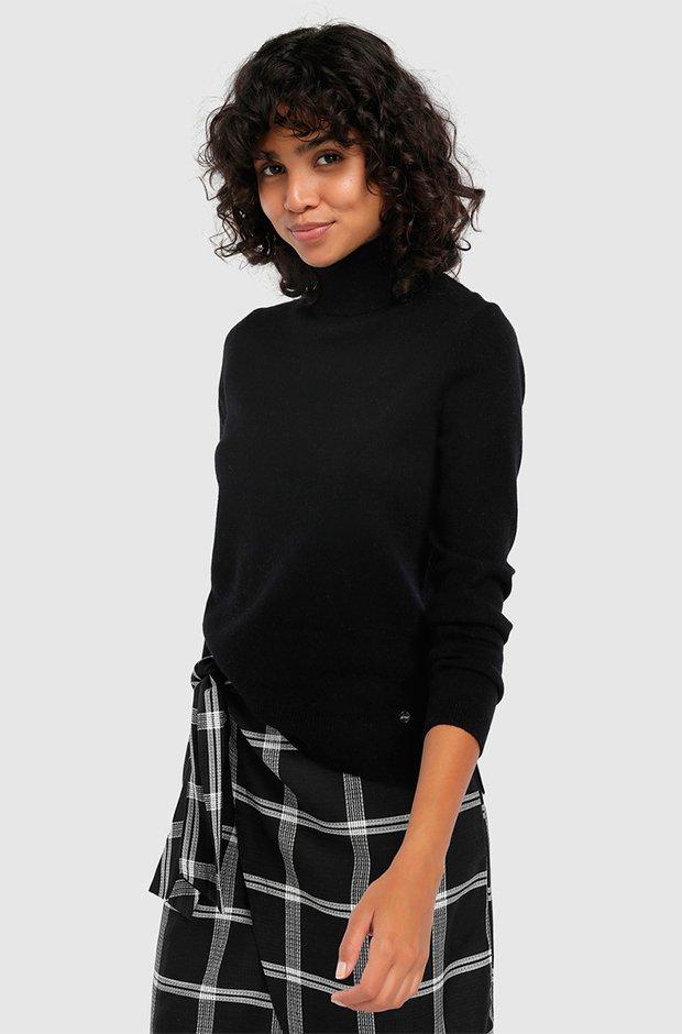 Jersey básico negro de Easy Wear