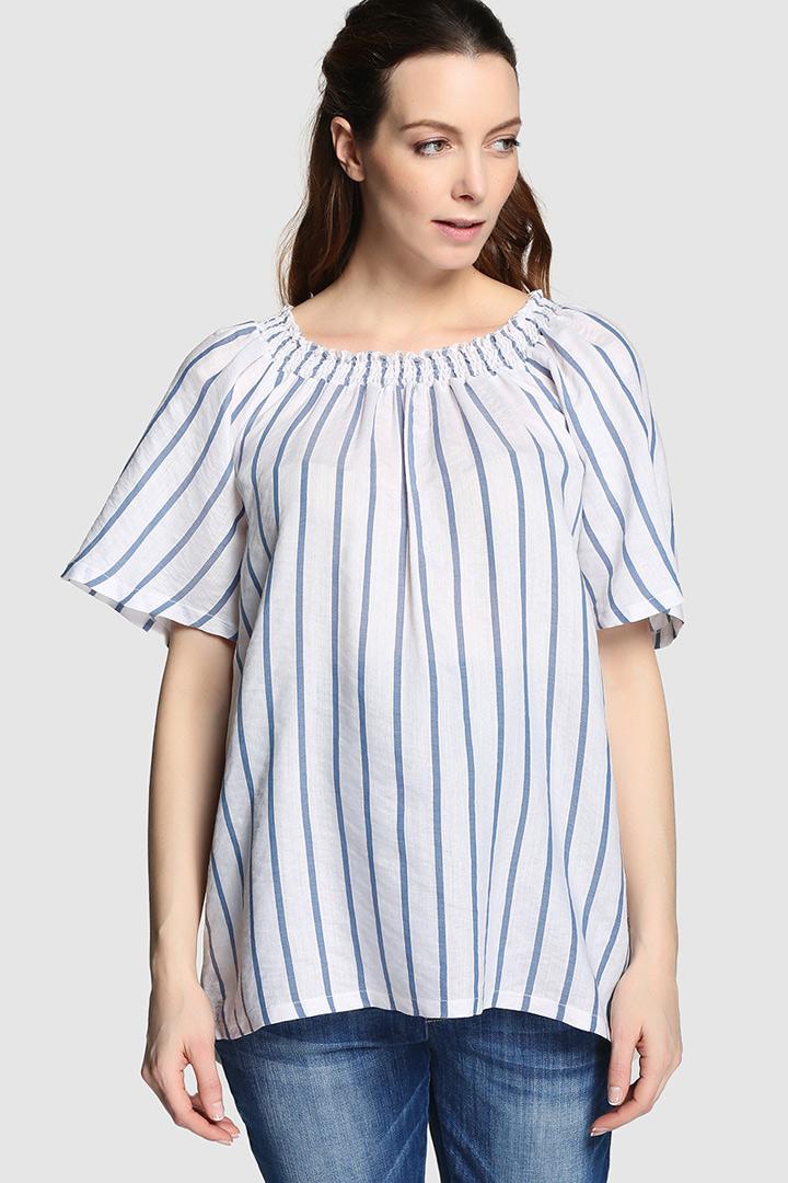 ropa para futuras mamás blusa suelta