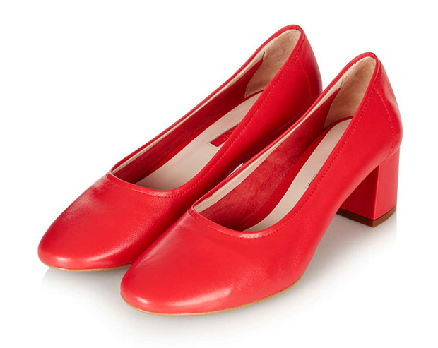 Granny shoes en rojo