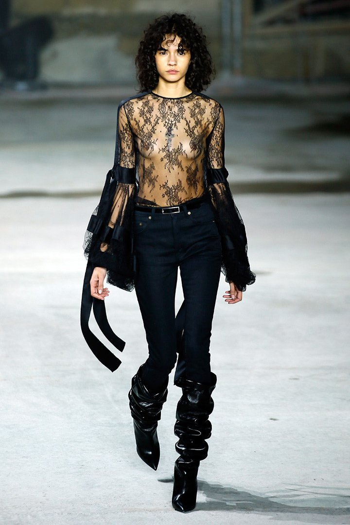 Saint Laurent Paris Fashion Week 1