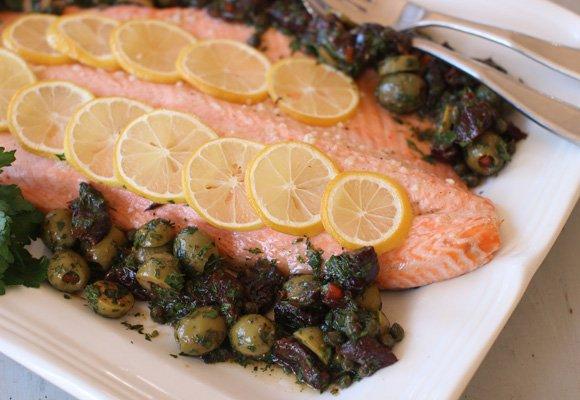 El salmón es uno de los alimentos estrella de su dieta