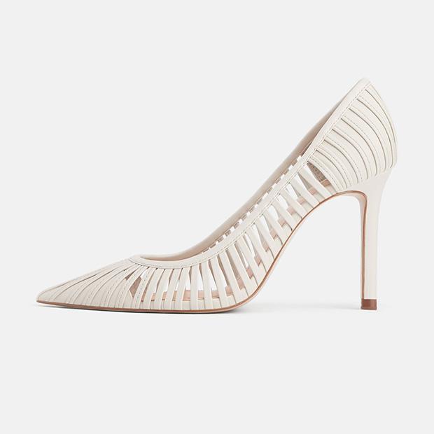 Salones en blanco de Zara Primavera 2019