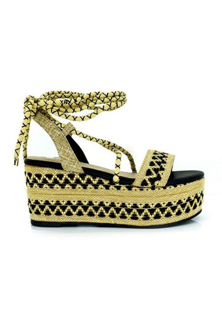Sandalias de cuña de Zaitegui