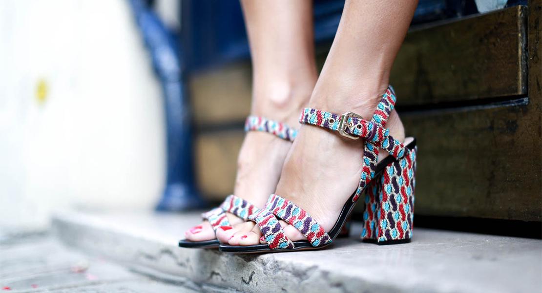 Sandalias de tacón cómodas