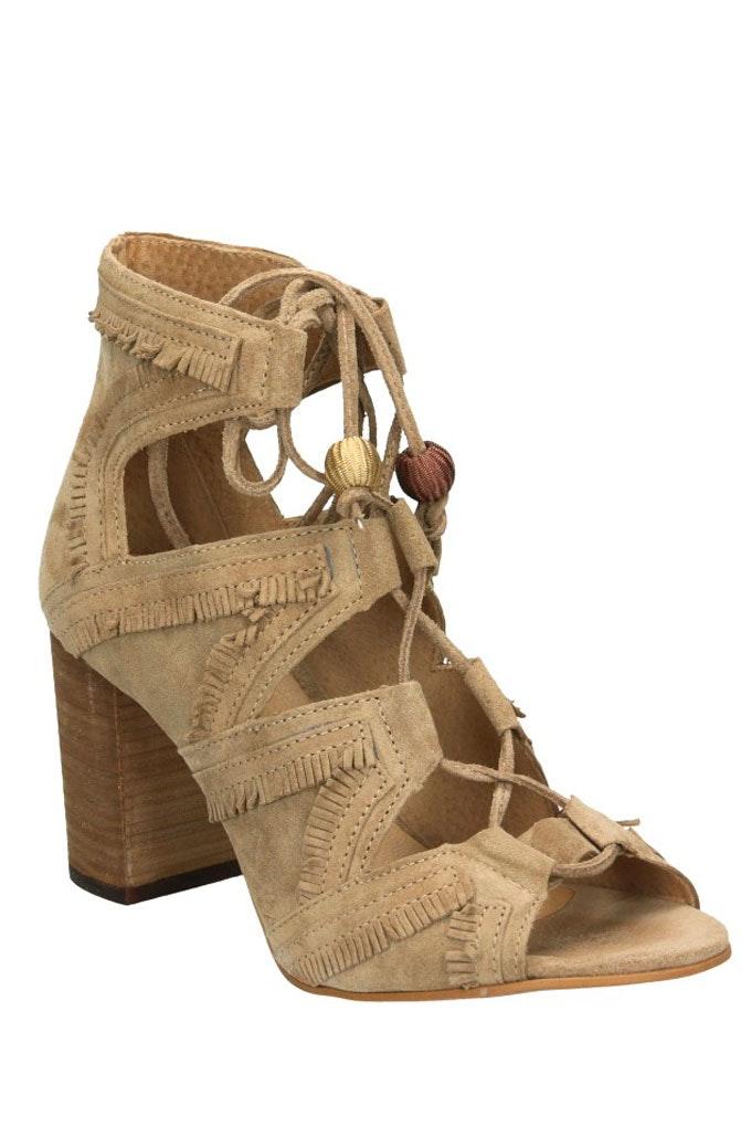 Sandalias con tacón cómodas