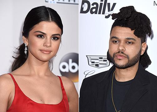 Selena Gómez y The Weeknd, la primera pareja sorpresa de 2017