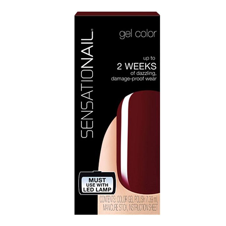 Esmalte Permanente Gel Miss Behave de SensatioNail: productos manicura profesional