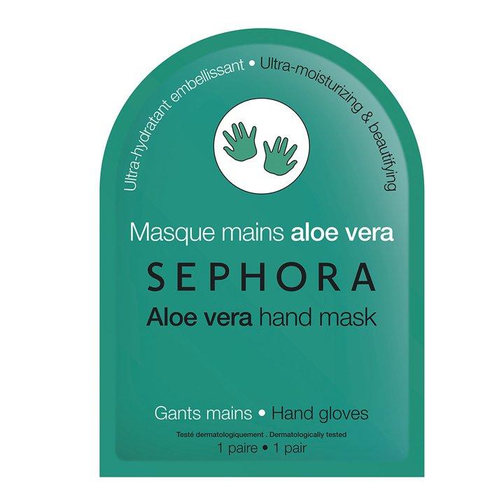 Mascarilla de manos Aloe Vera de Sephora: productos piel invierno