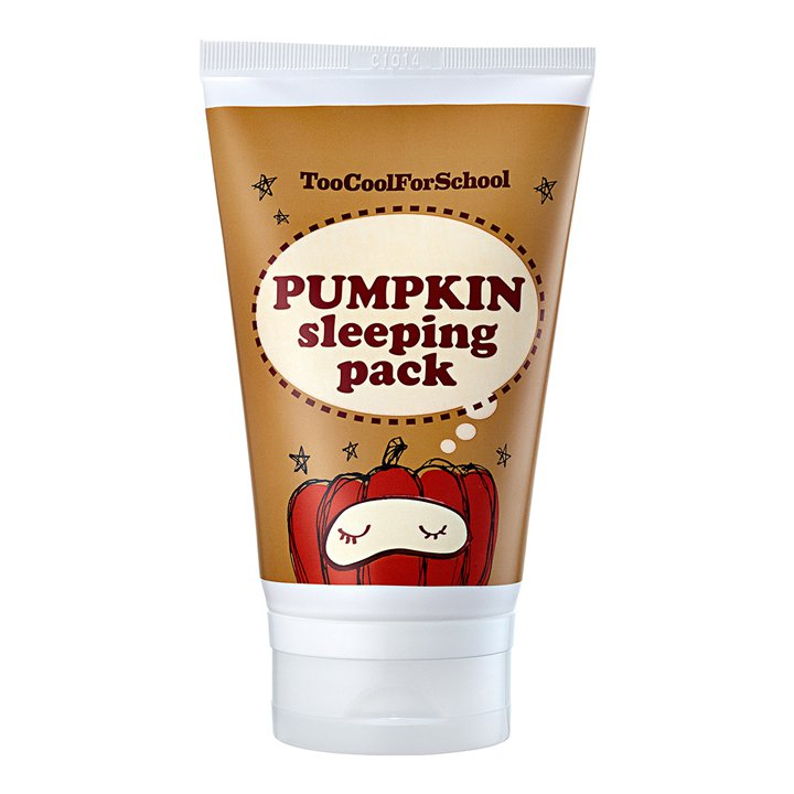 Pumpkin Sleeping Pack de Too Cool For School: productos cuidar piel mientras duermes