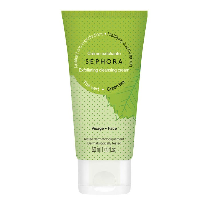 Crema exfoliante Té Verde de Sephora: productos prolongar bronceado