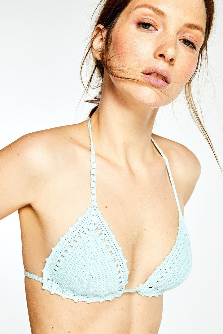 Top de bikini de crochet de Sfera Online
