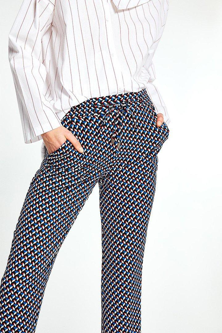 Pantalón con estampado geométrico de Sfera Online
