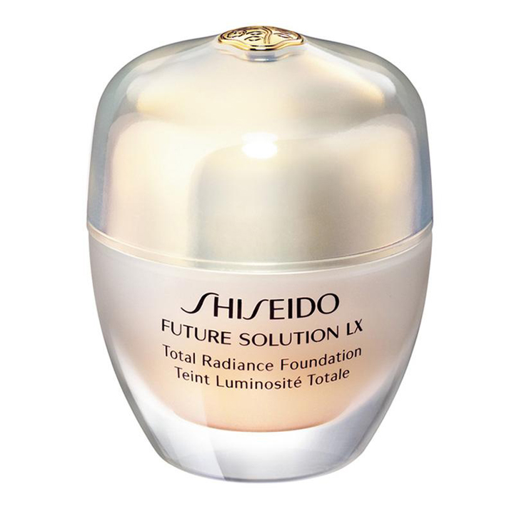 Future Solution Lx Total Radiance Foundation de Shiseido: bases de maquillaje 2019