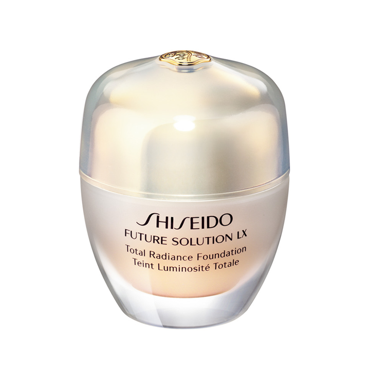 Total Radiance Foundation Future Solution LX de Shiseido: cremas con color