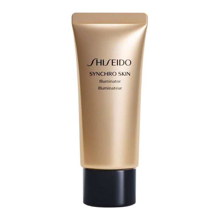 Iluminador Synchro Skin Pure Gold de Shiseido: look beauty navidades