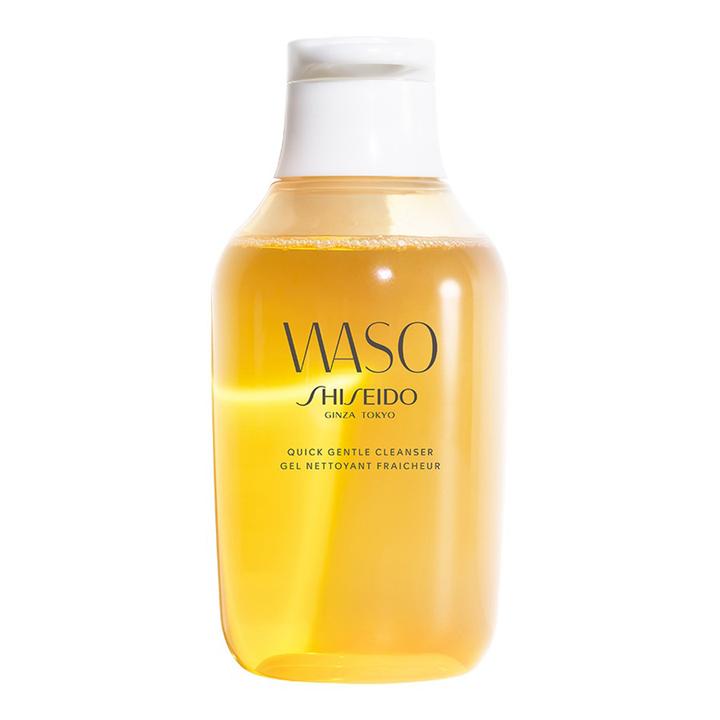 Waso Quick Gentle Cleanser de Shiseido: productos eliminar fatiga rostro