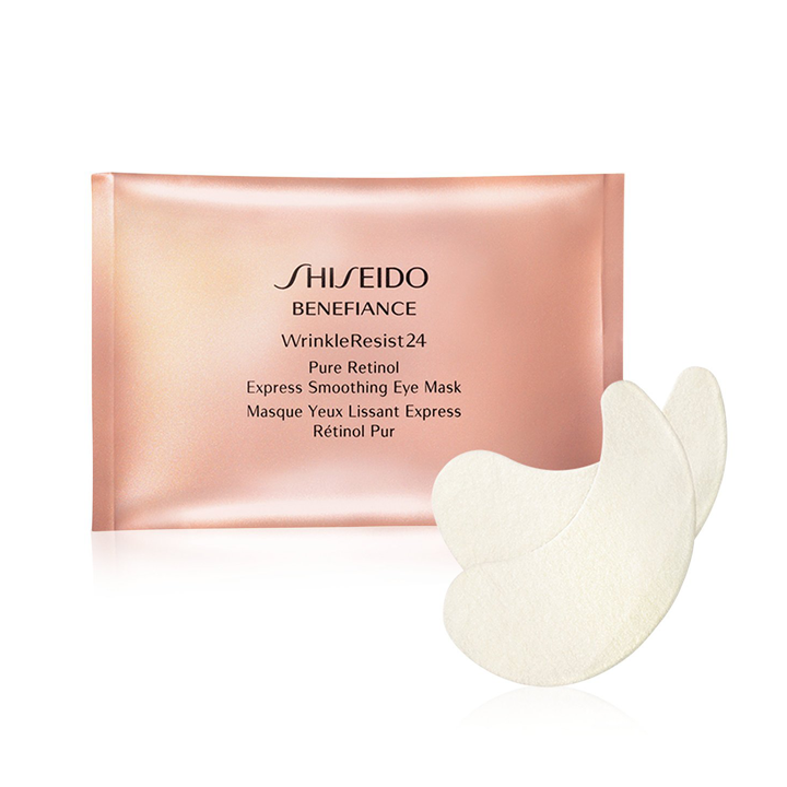 Pure Retinol Treatment Eye Mask de Shiseido: productos eliminar fatiga rostro