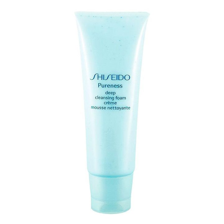 Pureness Deep Cleansing Foam de Shiseido: Productos pieles con acné