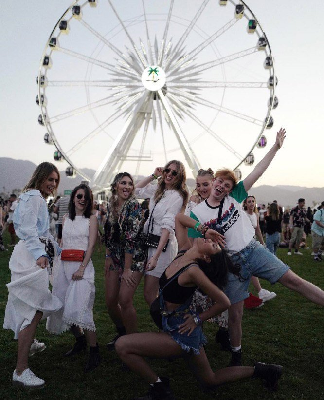 influencers coachella 2018