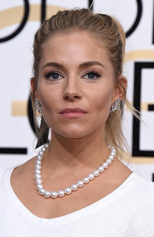 Sienna Miller globs de oro 2017